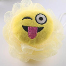 Load image into Gallery viewer, Emoji Loofahs, Super Soft Bath Ball