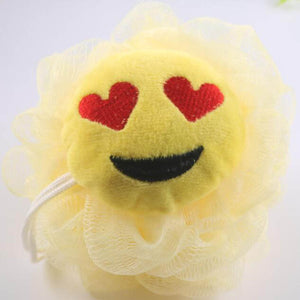 Emoji Loofahs, Super Soft Bath Ball