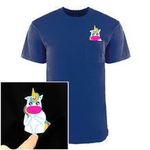 Load image into Gallery viewer, Two Girls ~ Anime Style Pocket Tee