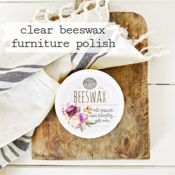 Beeswax Furniture Polish - Clear