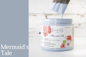 Mermaid's Tale | Clay-Based All-In-One Décor Paint