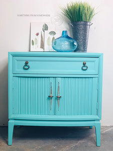 Tropical Cocktail Nightstand