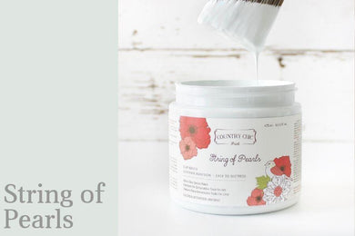 String of Pearls | Clay-Based All-In-One Décor Paint
