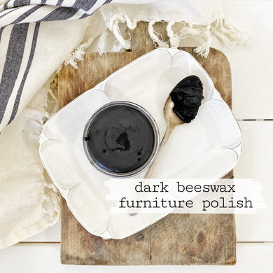 Beeswax Furniture Polish - Dark