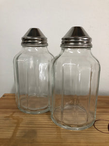 Vinegar and Oil Glass Containers