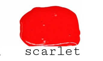 Scarlet | Safe Paint