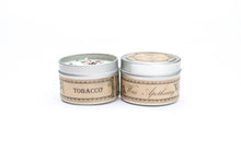 Load image into Gallery viewer, Tobacco 4oz Botanical Candle Travel Tin