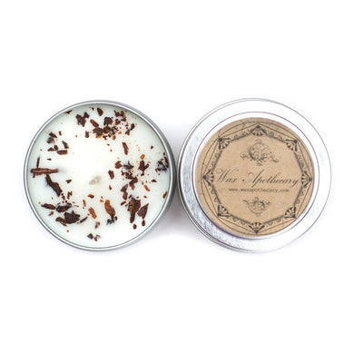 Tobacco 4oz Botanical Candle Travel Tin