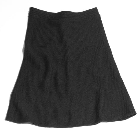 The Hip Skirt by Golightly Cashmere in black
