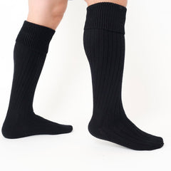 Golightly Cashmere Men's Substantial Socks | Black | Made in the USA | golightlycashmere.com
