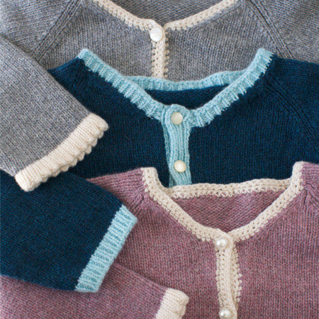 The Cashmere Baby Cardigan