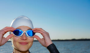 Uniquely comfortable swim goggles for triathletes and lap swimmers