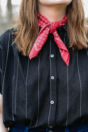 Bandana Scarf Red