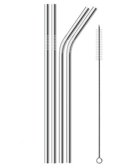 Stainless Steel Straws (Pack of Four) - Zest Style