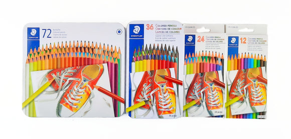 Colores Colored Pencils Crayons Hexagonal Staedtler