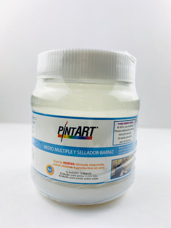 Medio Múltiple y Sellado-Barniz Pintart 250ml