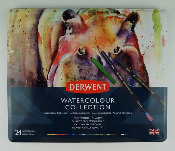 Est. De Lápices De Colores Watercolour Collection Derwent.