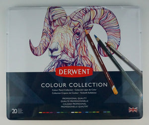 Estuche Con 20 Lápices De Colores Colour Collection Derwent.