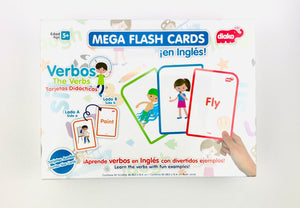 Mega Flash Cards Verbos En Ingles Diako BU-F1805
