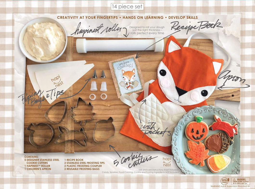 Fox Baking Set