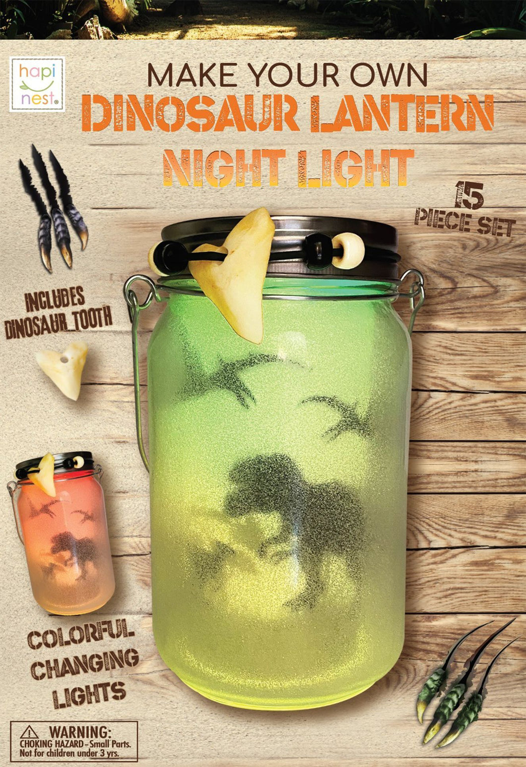 DIY Dinosaur Toy Lantern Night Light Kit