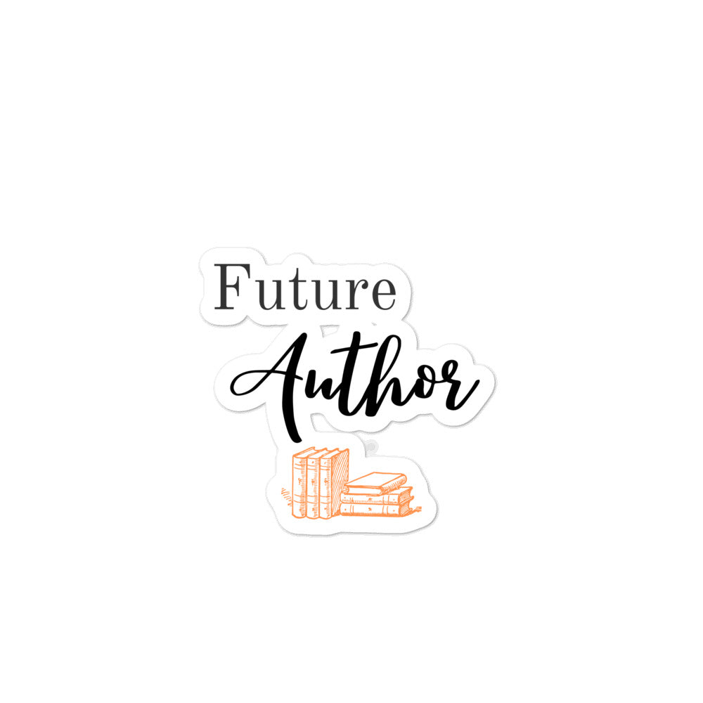 Future Author Sticker
