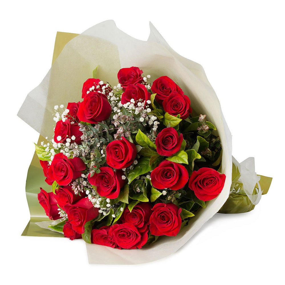 Two Dozen Red Rose Bouquet