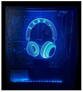 Alien 3D PC Case