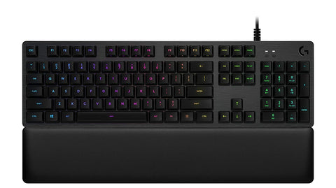 Logitech G513 RGB Backlit Mechanical Gaming Keyboard w/Romer-G Linear switches (Carbon)