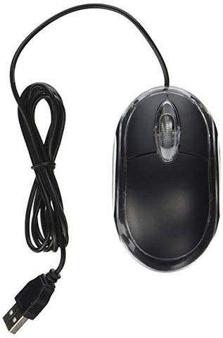 Mouse (3-Button, Optical USB, Wired, Generic) - Refurbished