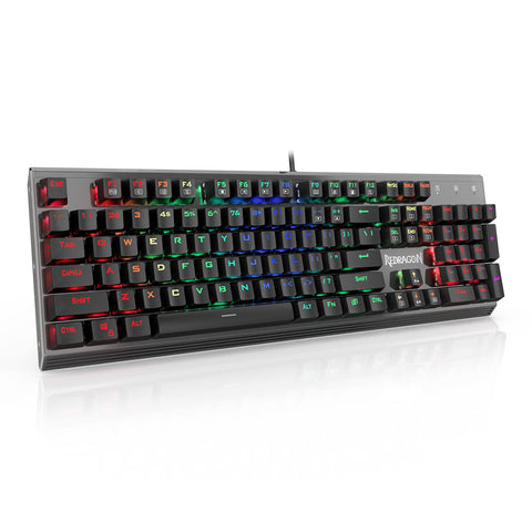 Redragon K570 USA RGB Backlit Aluminum Anti-ghosting Mechanical Gaming Keyboard