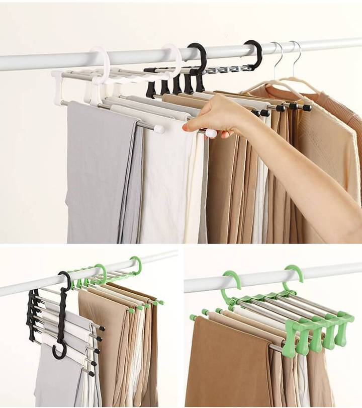 Multifunctional Adjustable Closet Organizer - 70% OFF!