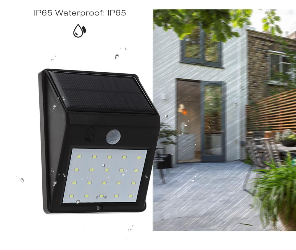 Home Garden Security Wall Lamp   -70%FREE!