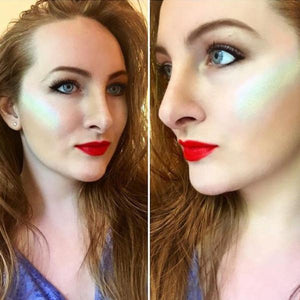Rainbow Highlighter Eyeshadow - 70%OFF!