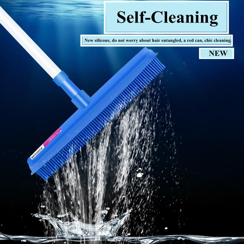 Telescopic Rubber Broom - 70% OFF!