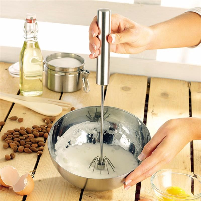 Self Turning Hand Mixer - 80% OFF!