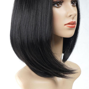 Natural Straight Bob Wig - 60%OFF!