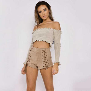 Lettuce Hem Crop Top - 60%OFF!