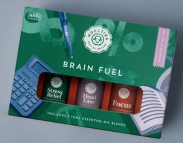 The Brain Fuel Essential Oil Collection