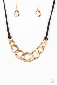 Paparazzi Naturally Nautical Necklace - Gold