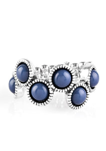 Foxy Fabulous Ring - Blue Ring- Paparazzi Accessories