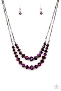 Strikingly Spellbinding - Purple Necklace - Paparazzi Accessories