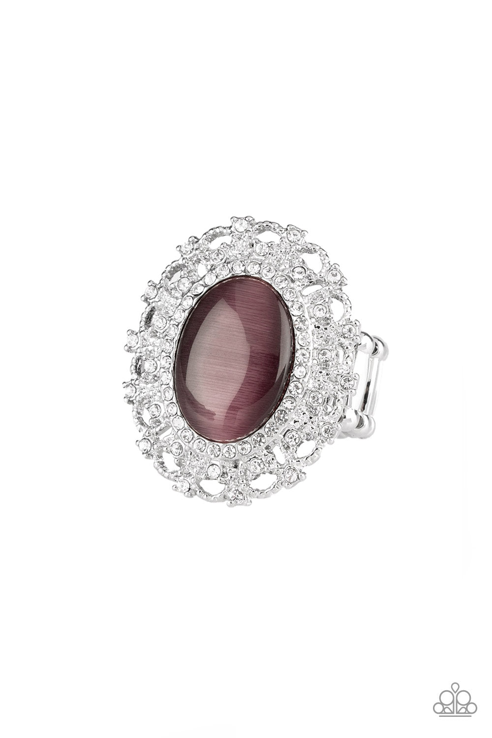 Paparazzi BAROQUE The Spell Ring-Purple