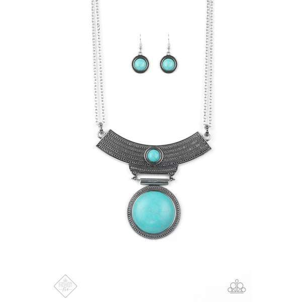 Paparazzi Lasting EMPRESS-ions Necklace - Blue