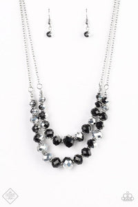 Strikingly Spellbinding - Black Hematite Necklace - Paparazzi Accessories