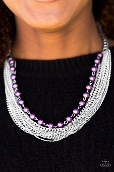 Fierce Fashion - Purple - Paparazzi Accessories