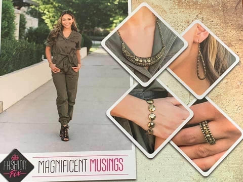 Magnificent Musings - Complete Trend Blend -August 2020 - Paparazzi Accessories
