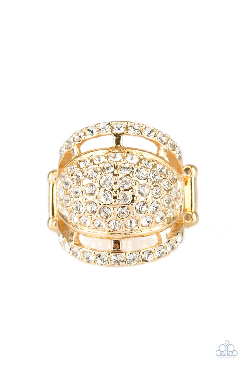 The Seven-FIGURE Itch - Gold Ring - Paparazzi Accessories