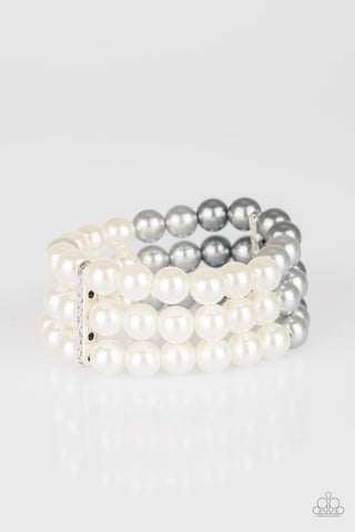 Paparazzi Central Park Celebrity Bracelet - Gray