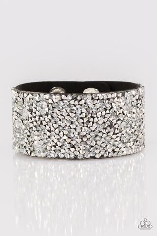 Paparazzi More Bang For Your Buck Bracelet - Black